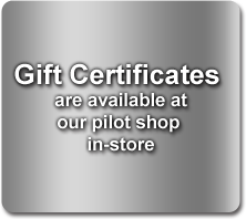 Discovery Flight Gift Certificates available